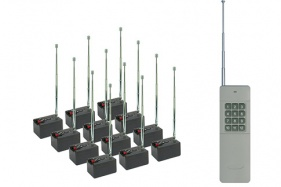 12 Cue 2000m Distributed Wireless Firing System AlphaFire X12QL (9th Generation)