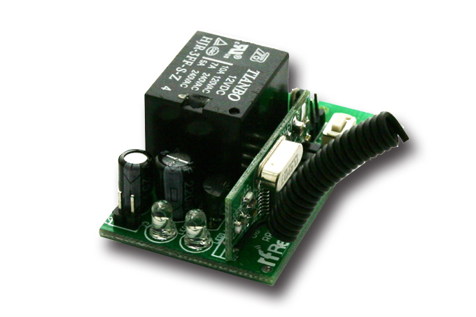 Single Channel 4 Mode Relay Receiver RR1LNC