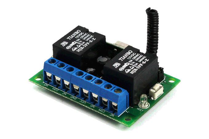 2 Channel 4 Mode Relay Receiver RR2LNC